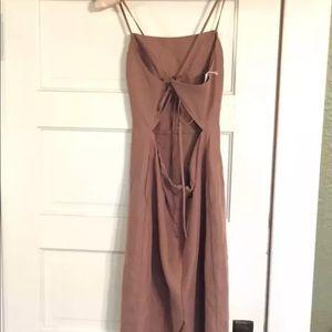 8bfb53252e Aritzia Dresses - Aritzia Wilfred Nude linen dress sz 10 NWT